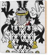 Duane Coat Of Arms Irish Wood Print