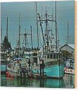 Duashala Fishing Boat Hdrbt4247-13 Wood Print