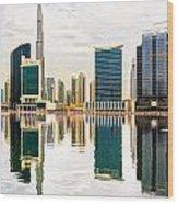 Dubai Downtown -  Wood Print