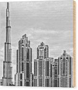 Dubai  Wood Print