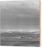 Dublin Bay Storm Wood Print