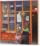 Dublin Ireland Anticipate Wood Print
