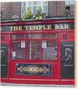 Dublin Ireland - The Temple Bar Wood Print