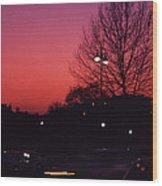 Dubonnet Sky  Wood Print