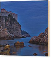 Dubrovnik Bay Wood Print