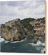 Dubrovnik In Focus Wood Print