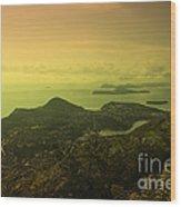 Dubrovnik Islands  Wood Print