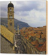 Dubrovnik - Old City Wood Print
