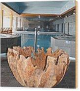 Dubrovnik Palace Pool Wood Print