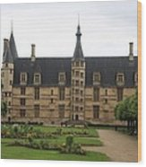 Ducal Palace Nevers Wood Print