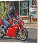 Ducati 748 Wood Print