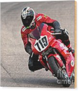 Ducati No. 719 Wood Print