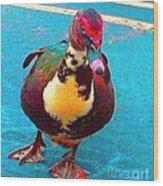 Duck 5515 7 A Wood Print