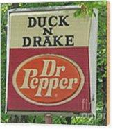 Duckter Pepper Wood Print
