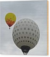 Dueling Balloons 2 Wood Print