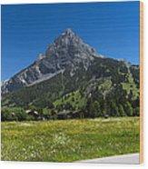 Duendenhorn Mountain Wood Print