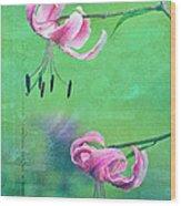 Duet - 9t01b Wood Print