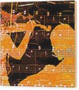 Duet Wood Print