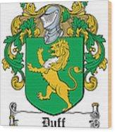 Duff Coat Of Arms Dublin  Wood Print
