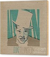 Duke Ellington Wood Print