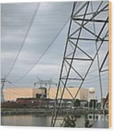Duke Energy Mcguire Nuclear Energy Station Wood Print