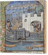 Duke Of Orleans, Tower Of London, 1430s Wood Print