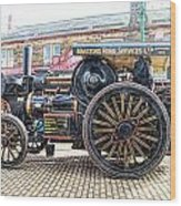 Duke Of York Traction Engine 6 Wood Print