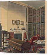 Dukes Own Room, Apsley House, By T. Boys Wood Print