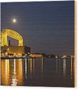 Duluth Aerial Lift Bridge Wood Print