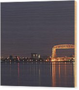 Duluth Canal Park Eve 2 Wood Print