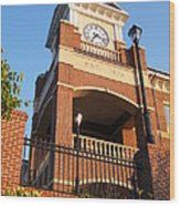 Duluth Clock Tower Wood Print