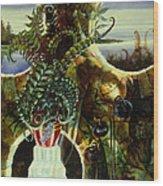 Duluth Garden Wood Print