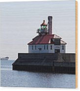 Duluth Harbor South Breakwater Lighthouse Wood Print
