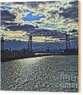 Duluth Lift Bridge Wood Print