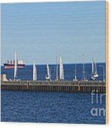 Duluth Mn Harbor Wood Print
