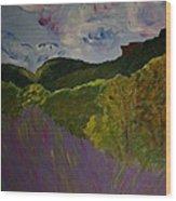 Dundas Peak Wood Print