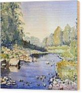 Dundas Valley Wood Print
