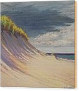 Dune Crest Wood Print