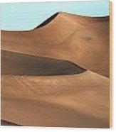 Dune Majesty Wood Print