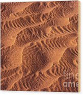 Dune Patterns - 241 Wood Print by Paul W Faust -  Impressions of Light