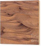 Dune Patterns - 248 Wood Print