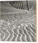 Dune Patterns II Wood Print