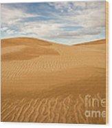 Dunescape Wood Print