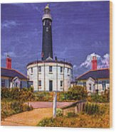 Dungeness Old Lighthouse Wood Print