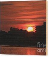Dunlawton Sunrise Wood Print