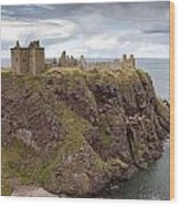 Dunnottar Castle Wood Print