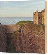 Dunnottar Castle Wood Print