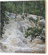 Dunns River Falls 2 Wood Print
