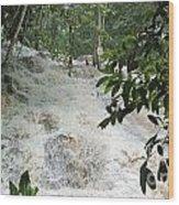 Dunns River Falls 3 Wood Print