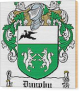 Dunphy Coat Of Arms Irish Wood Print